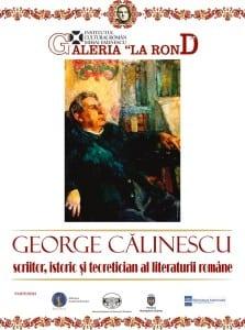 """Expoziția """"George Călinescu"""","""