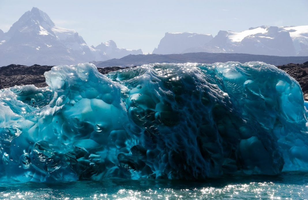 Ghețarii din Patagonia