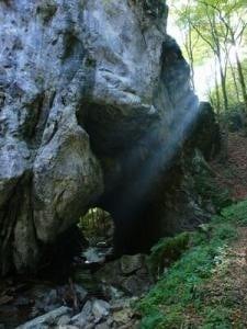 Podul natural de la Grohot