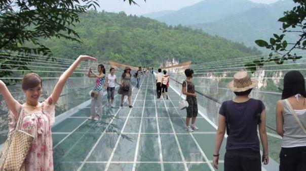 podul de sticlă