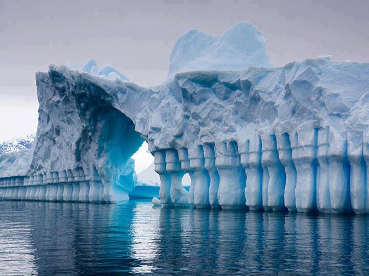 calota glaciară a Antarcticii