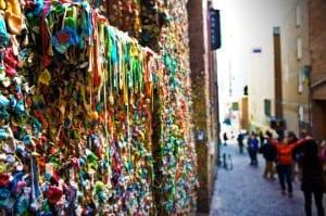 Zidul de gumă de mestecat