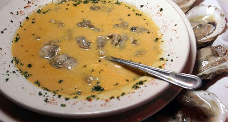 supă de stridii