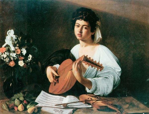 Cântaret la lauta, Caravaggio