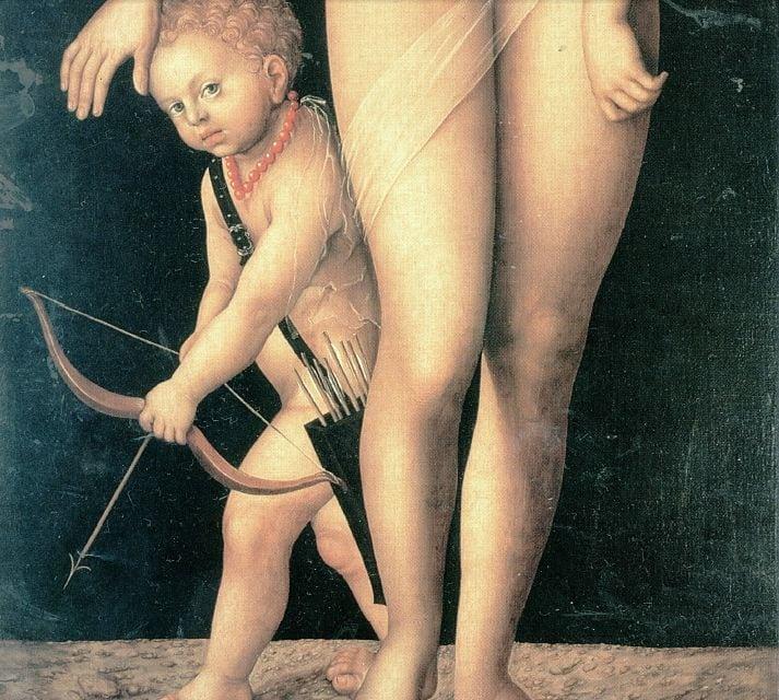 Lucas Cranach cel batran, venus -amor1