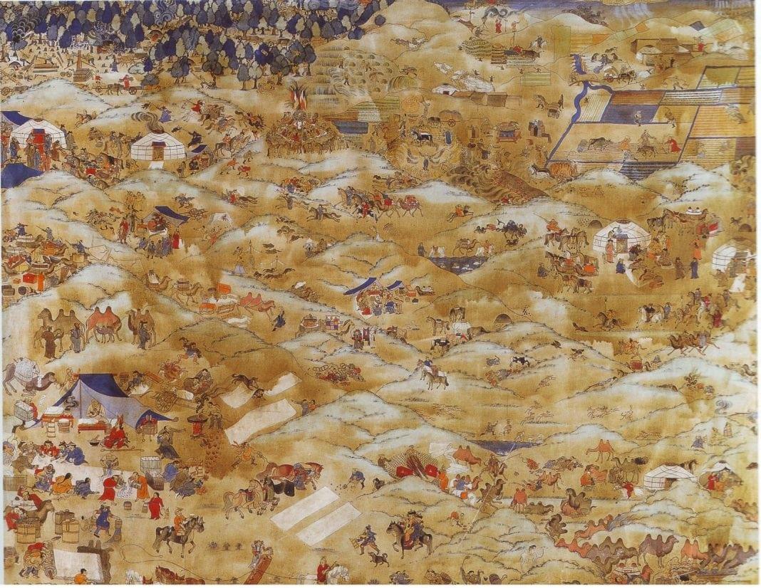 O zi in Mongolia - B. Sharav (1869-1939)
