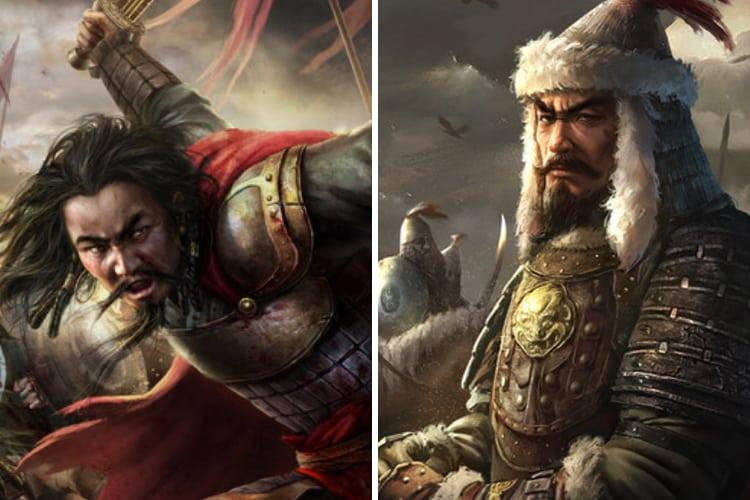 Ogedei-Khan-Genghis-Khan