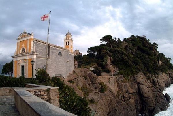 Chiesa di San Giorgio - Portofino - Liguria - Italia - Mar Mediterraneo