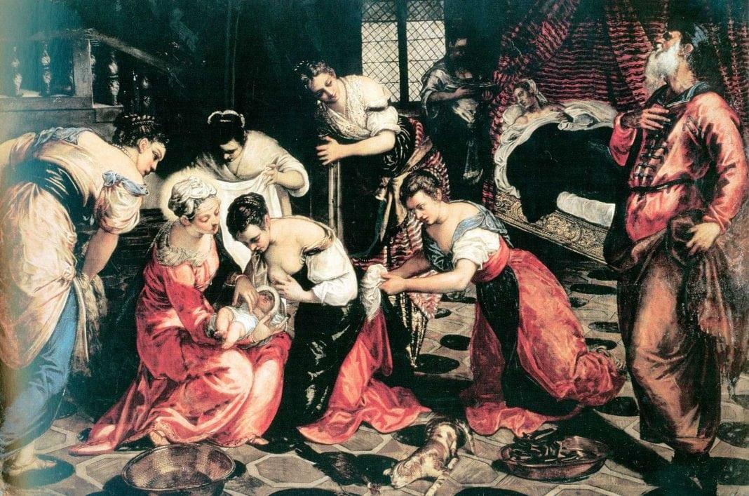 Tintoretto, Nasterea Sfântului loan Botezatorul