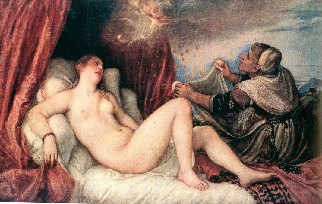 Titian, Danae