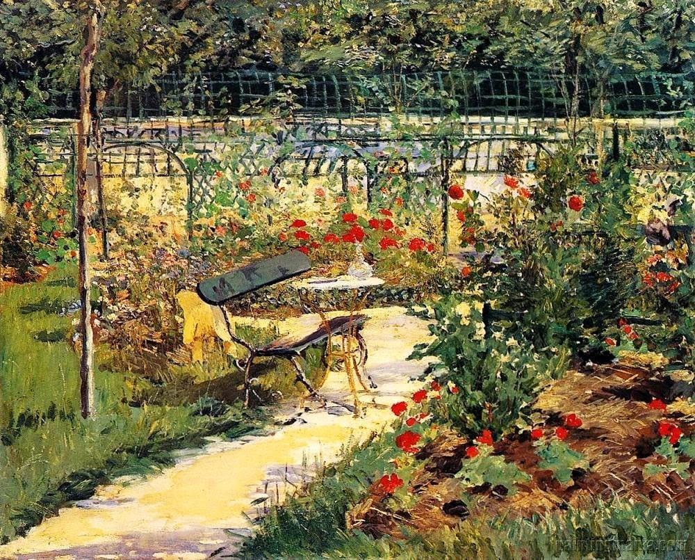 edouard-manet-my-garden-1881