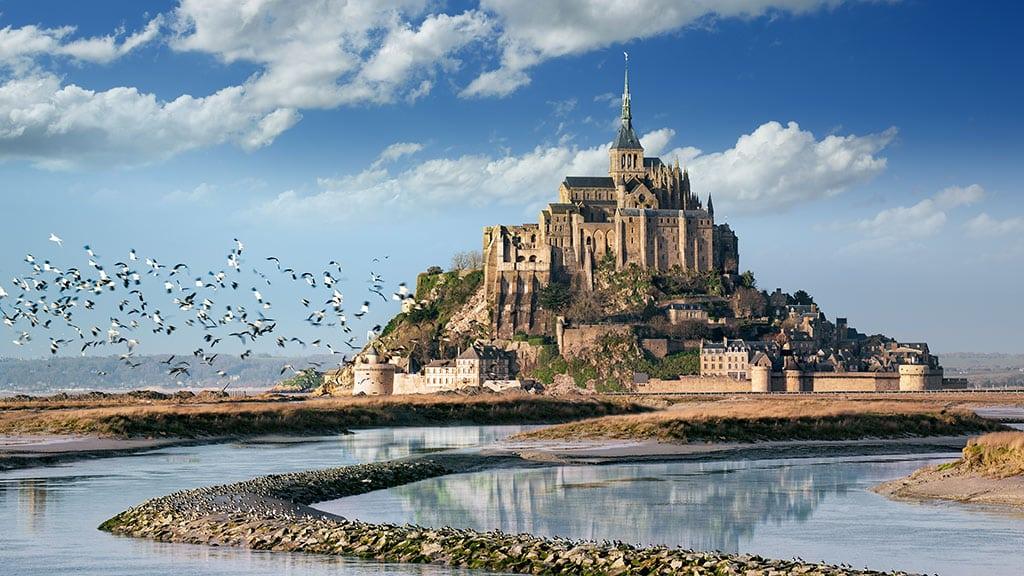 mont-saint-michel castelul