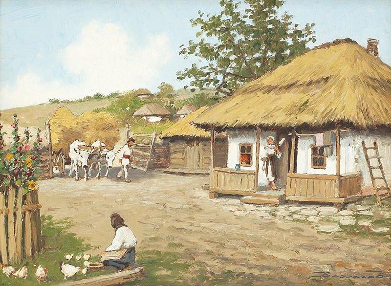 pictura-ludovic-bassarab-e28093-intoarcerea-carelor-cu-fan