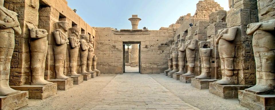 Temple de Karnak à Louxor, Egypte