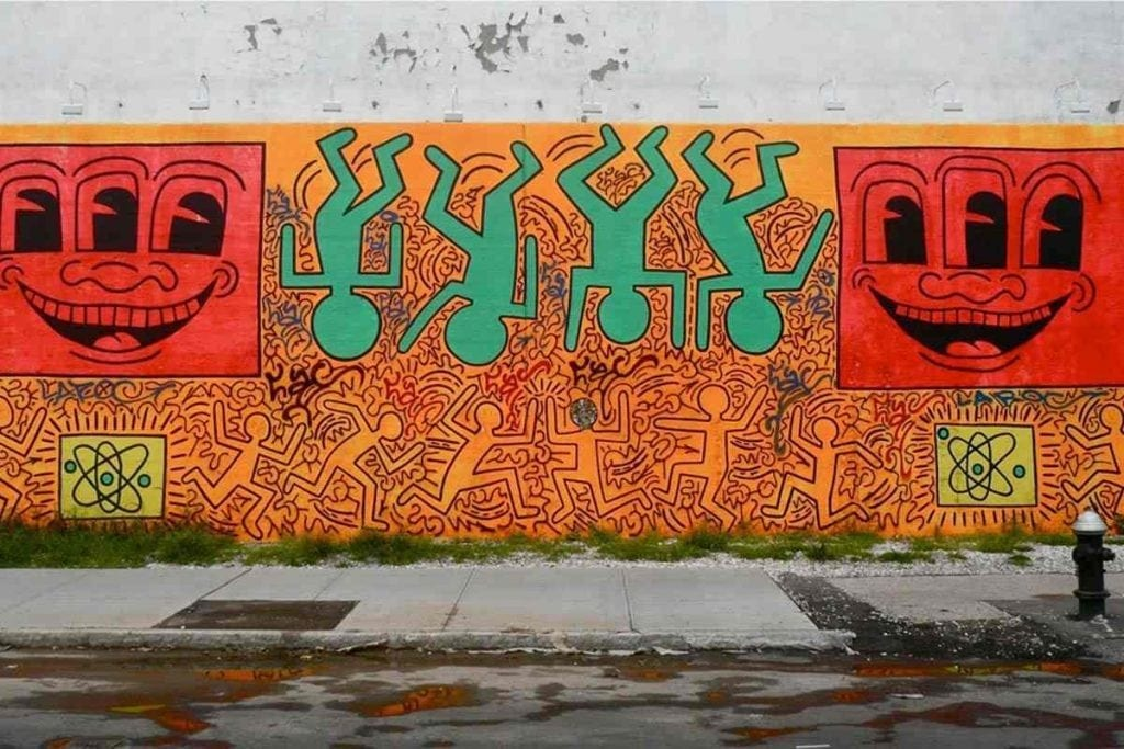keith-haring-houston-bowery-wall-tribute-photo-theredlist