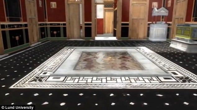 Cum se trăia în Pompei în urmă cu 2.000 de ani: Casă reconstruită 3D