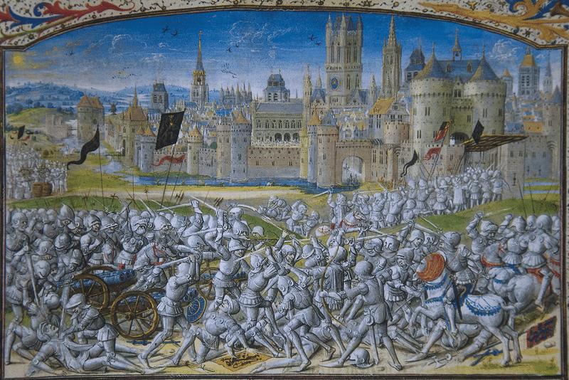 phillip-van-artevalde Bătălia de la Rosebecke