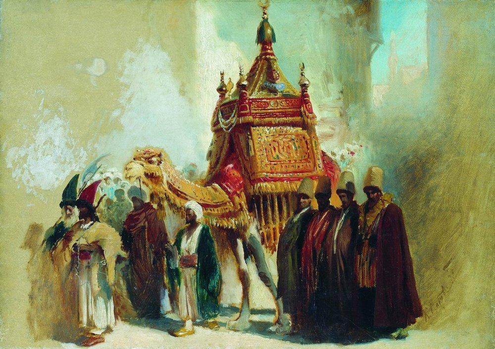 the-transfer-of-the-sacred-carpet-from-mecca-to-cairo