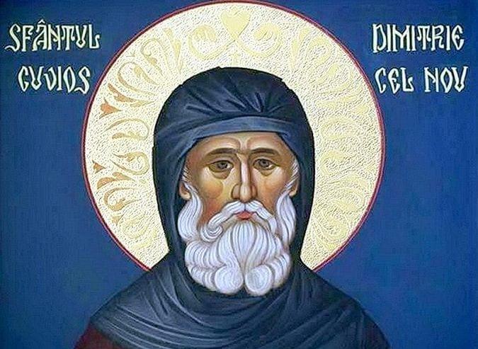 Sfântul Cuvios Dimitrie cel nou, Basarabov