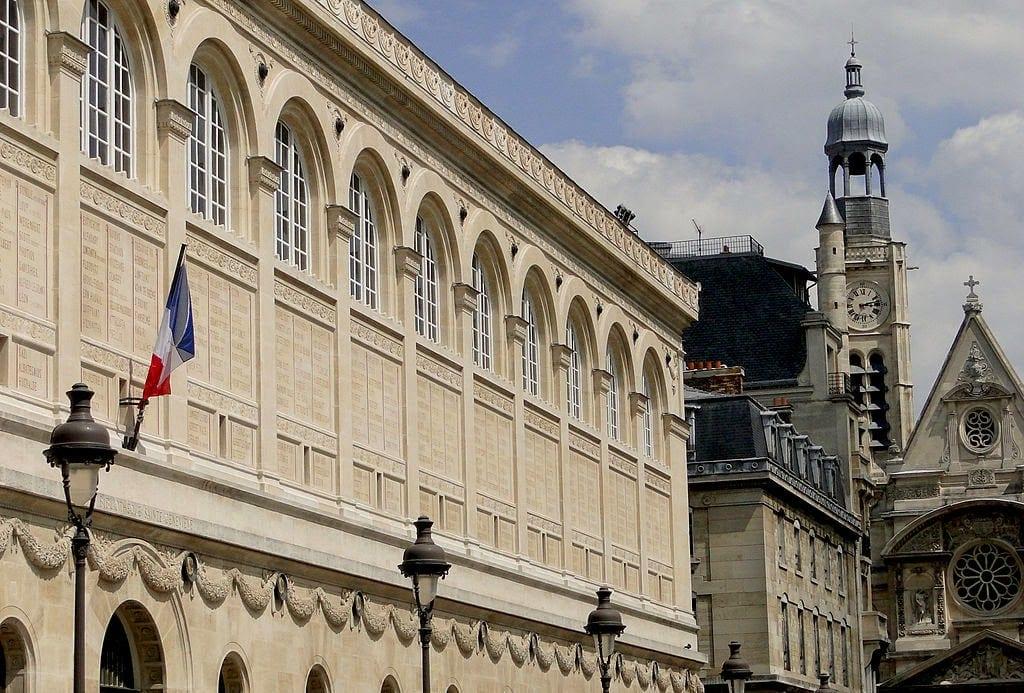 Minuni arhitecturale: Bibliotheque Sainte Genevieve, Paris