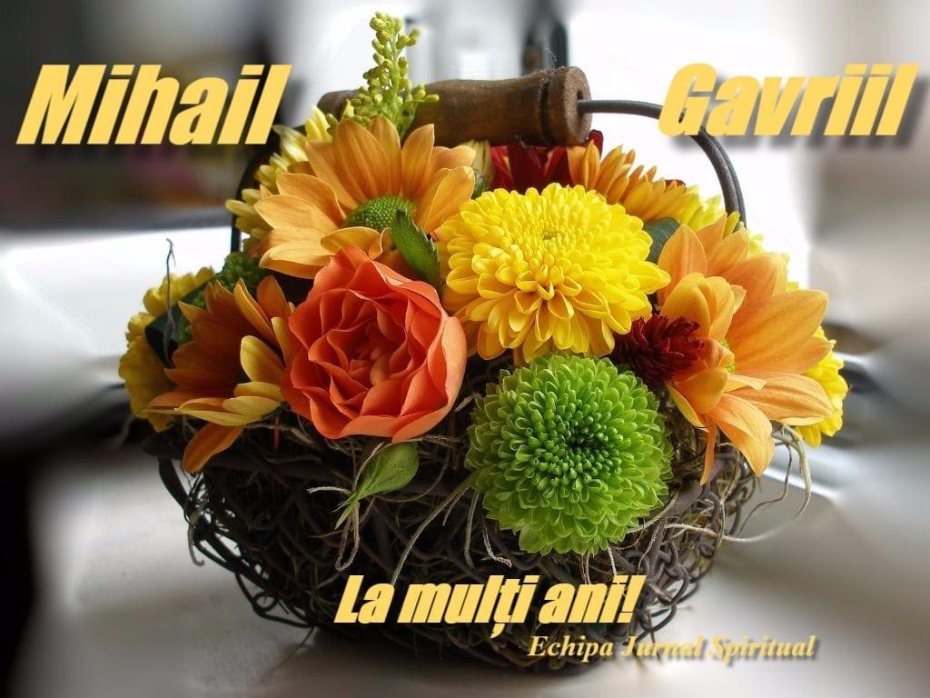 Mesaje de Sfinții Mihail şi Gavriil