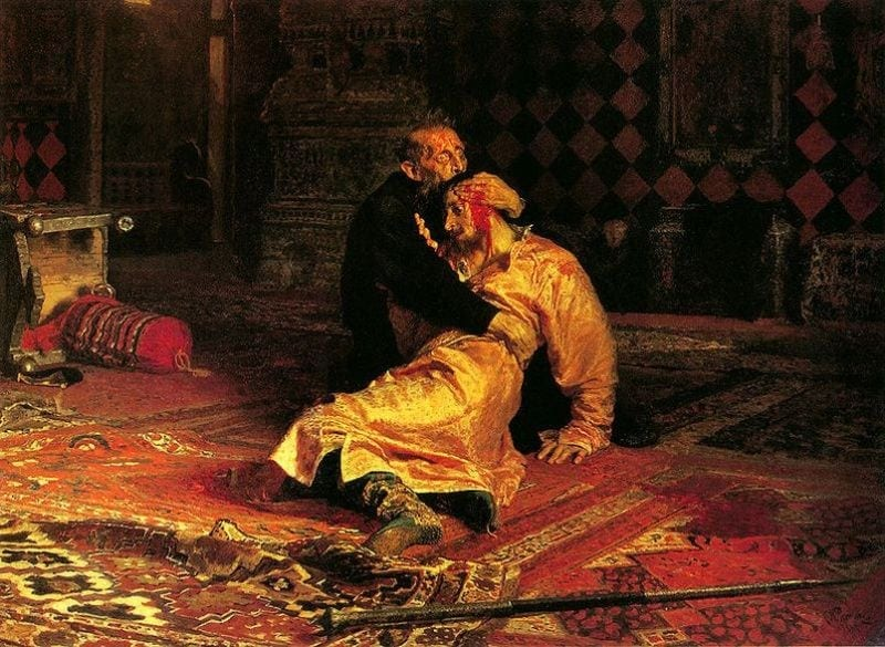 "Ivan al IV-lea ""cel Groaznic"""