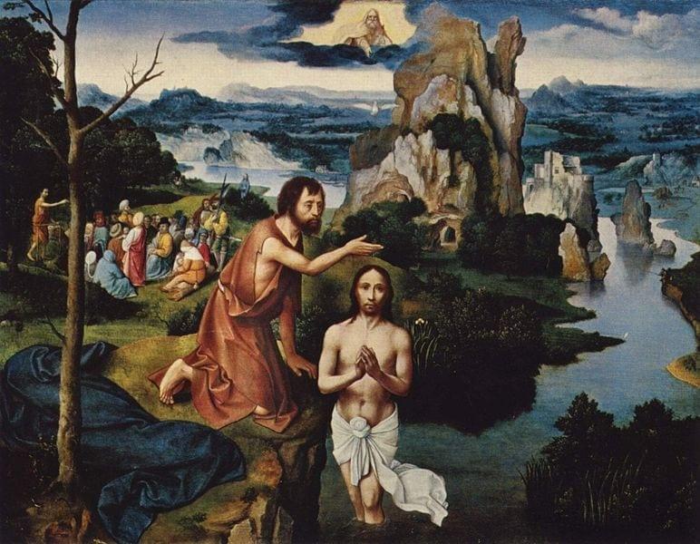 Joachim Patinir,Botezul lui Hristos,