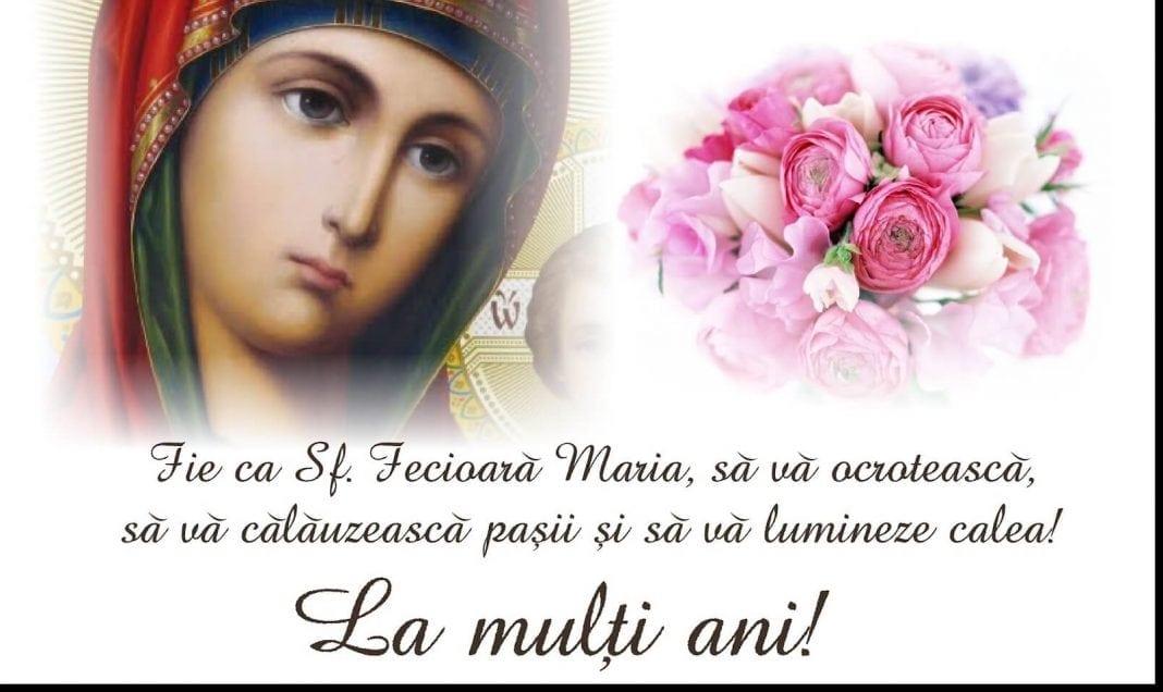 MESAJE DE SFÂNTA MARIA. Urări de suflet pentru cei care îşi sărbătoresc ziua onomastică