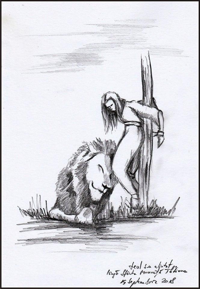 Tatiana și leul