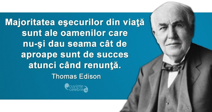 Thomas Edison- Succesul