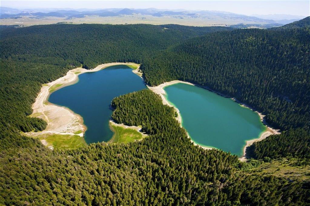 Parcul Național Durmitor lacurile