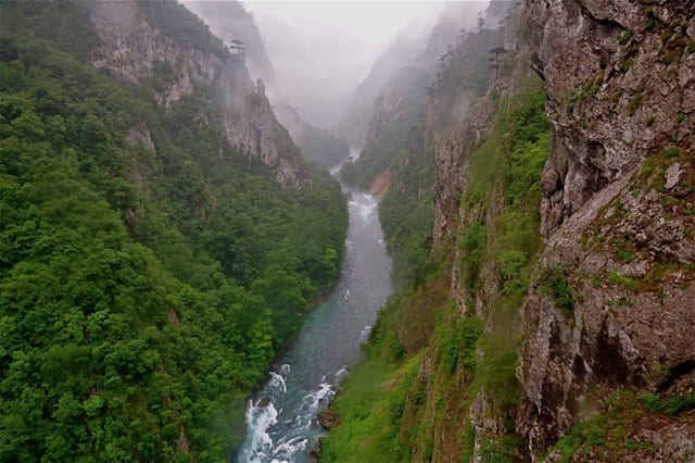 Parcul Național Durmitor și Canionul Tara