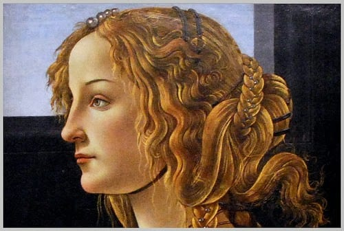 Simonetta Vespucci- Tainele frumuseții