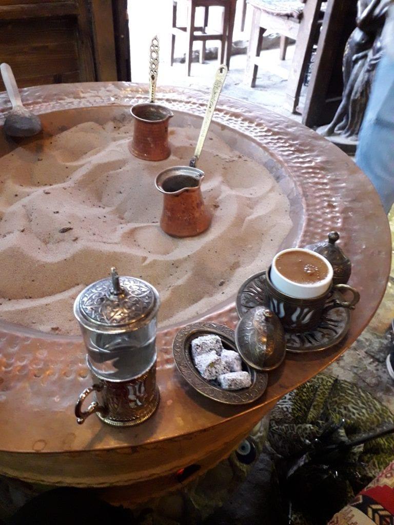 Turci- Cafea la nisip