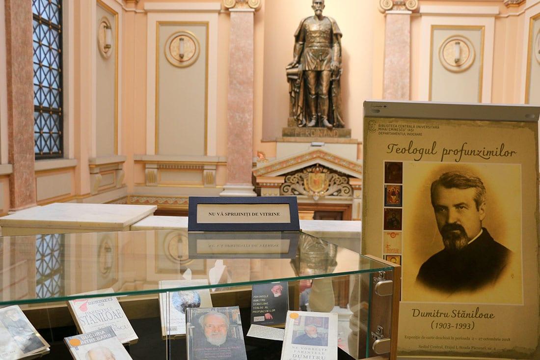 Expoziția Teologul profunzimilor. Dumitru Stăniloae