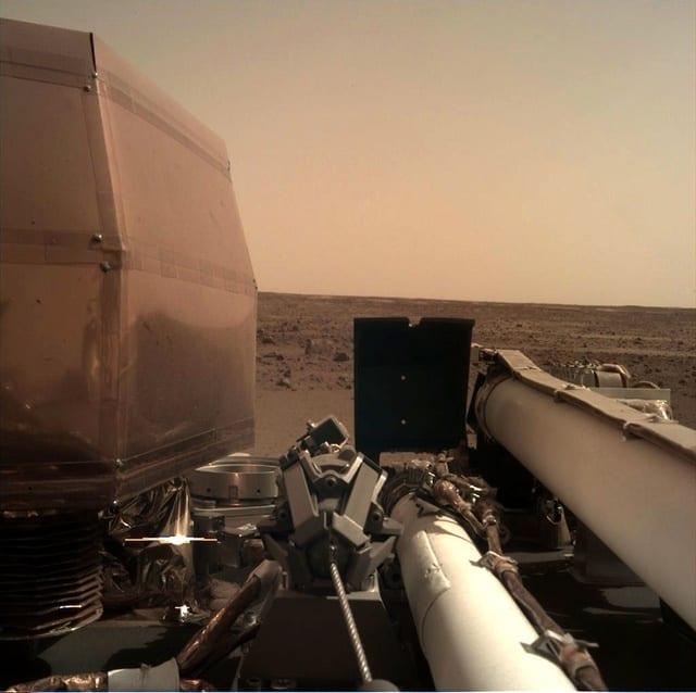 Noua sondă NASA a ajuns pe Marte