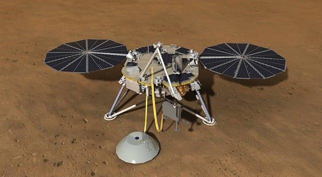 Noua sondă NASA, cu succes pe Marte
