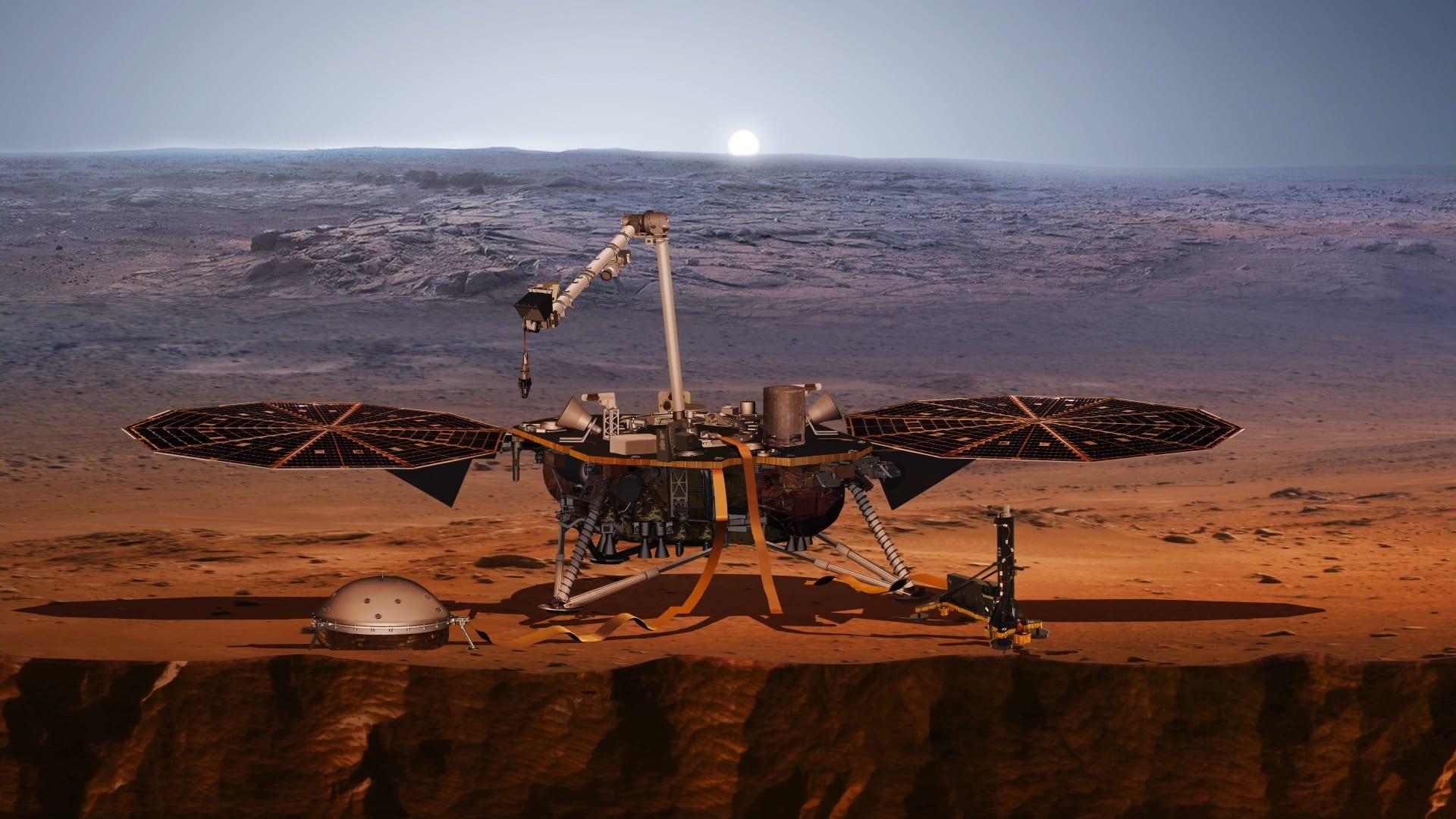 InSight, nouă sondă NASA, a ajuns pe Marte
