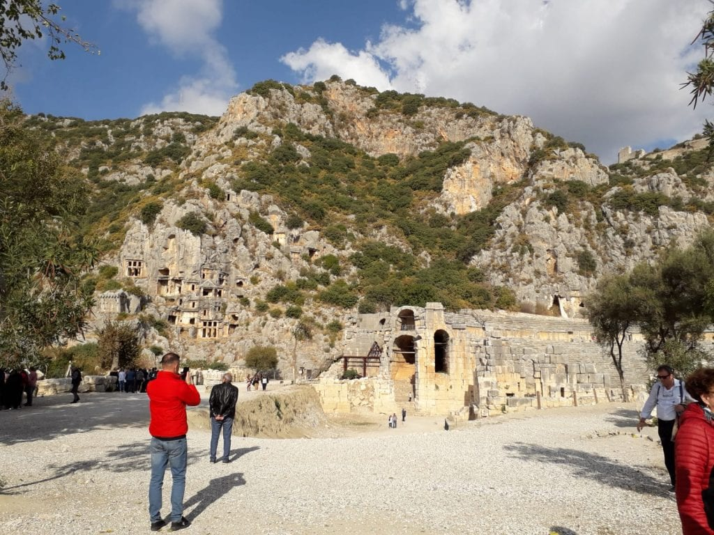 Antalya- Morminte și sarcofage din Myra