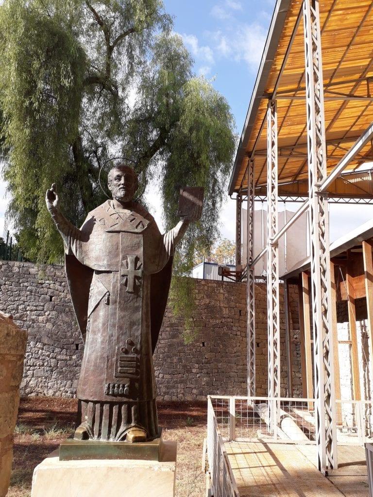 Antalya -Statuia Sfântului Nicolae din Mira Lichiei