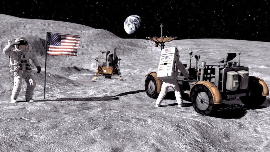 Omul, din nou pe Lună
