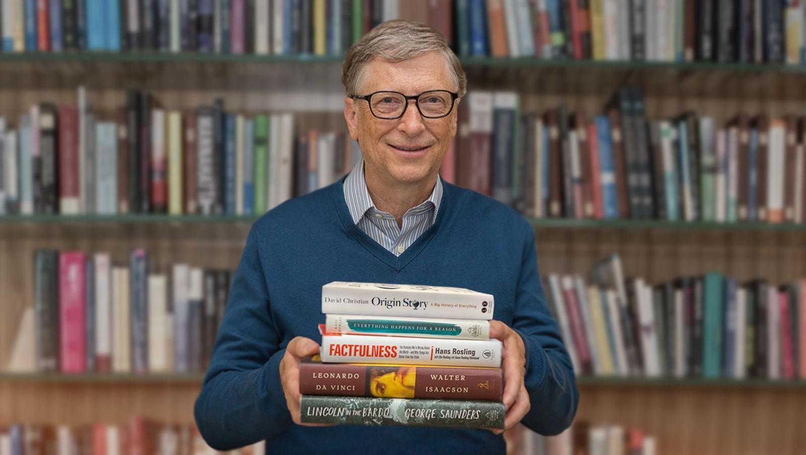 Cărțile recomandate de Bill Gates