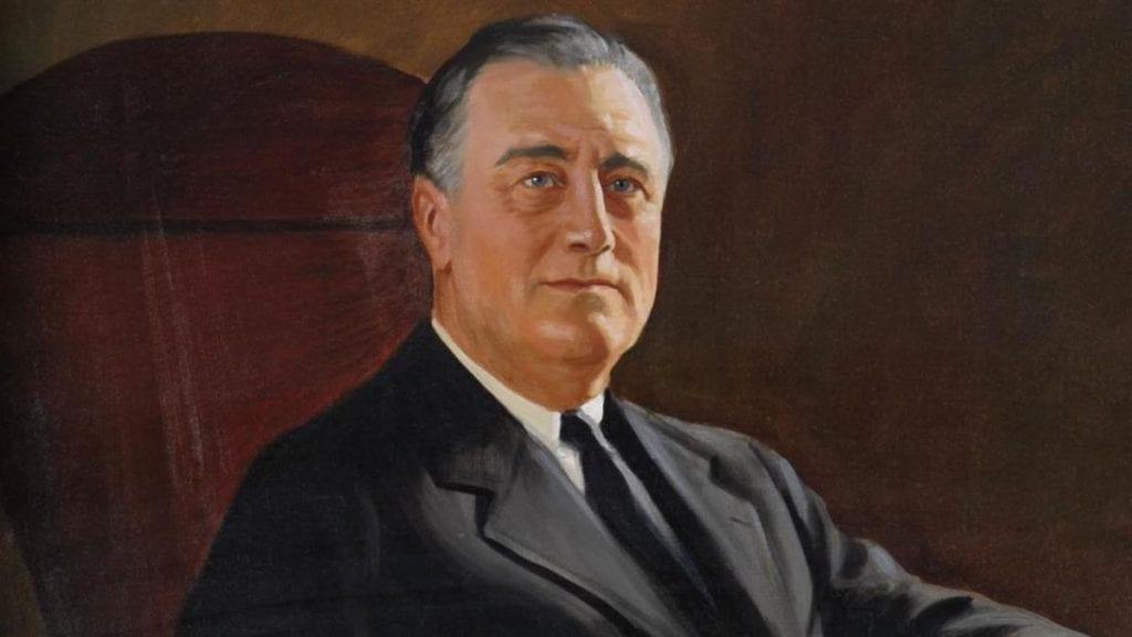 astăzi Franklin D. Roosevelt