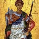 26 octombrie - Sf. Mare Mucenic Dimitrie, Izvorâtorul de mir