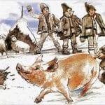 craciun traditional in maramures taierea porcului romania celendo 1