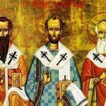 30 ianuarie - Sfinţii Trei Ierarhi: Vasile cel Mare, Grigorie Teologul şi Ioan Gură de Aur