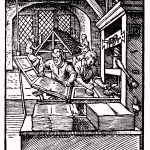 Printer in 1568 ce